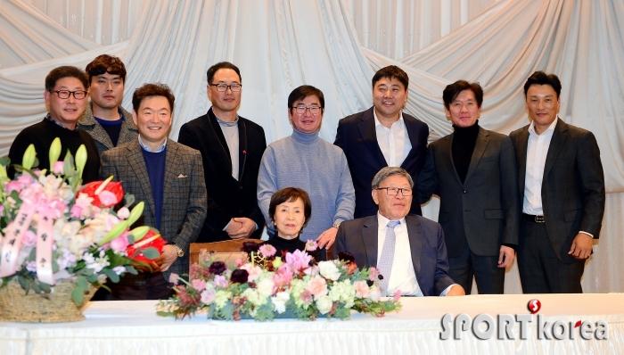 김응용 감독, 삼성 시절 추억을 떠올리며~