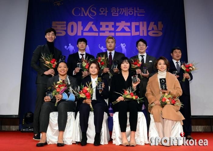 2019 동아스포츠대상을 빛낸 영광의 수상자!