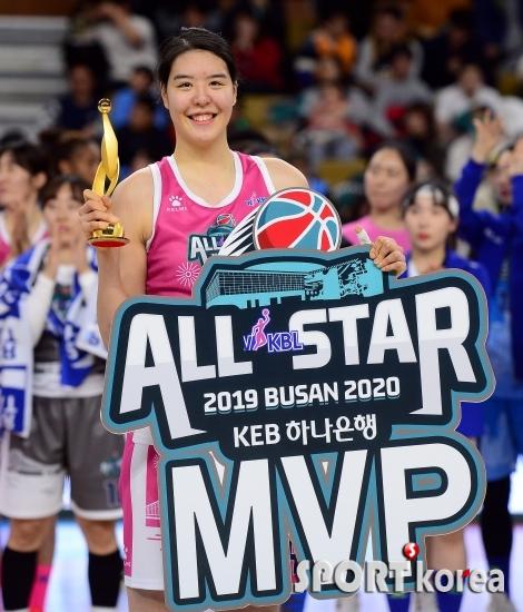 별중의 별 `여자농구 MVP 박지수`
