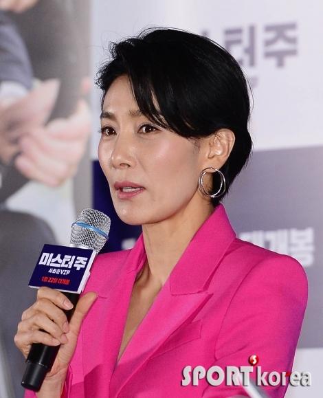 김서형 `영화 보고 약간 아쉬워`