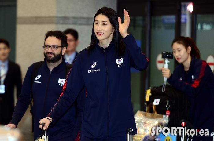금의환향 김연경, 올림픽 본선에 진출했어요!