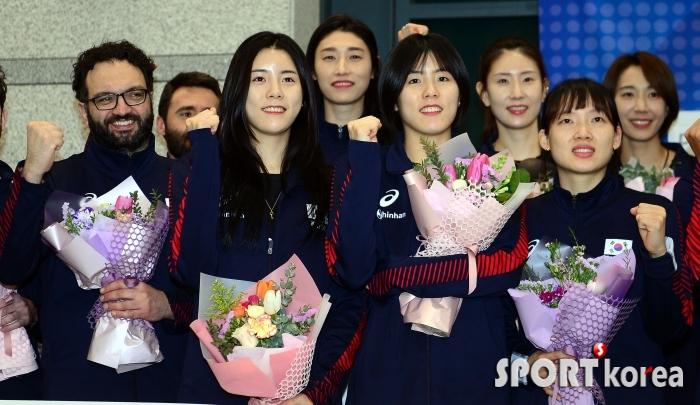 여자배구대표팀, 도쿄올림픽 메달에 도전!