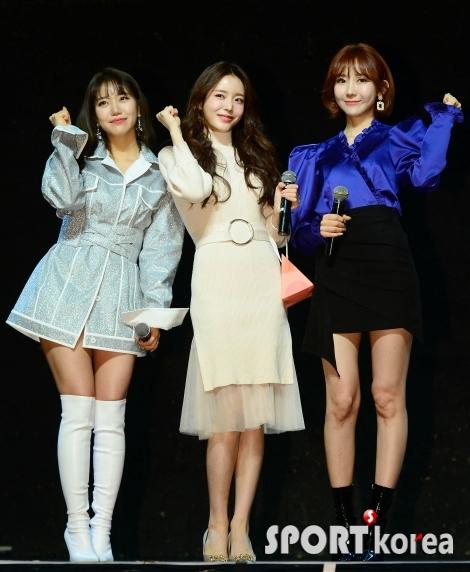김희진-박성연-하유비 `쇼케이스에서 모인 미스트롯`