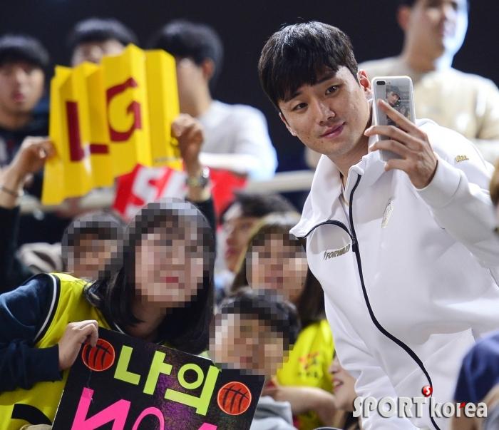 김동량 `팬과 함께하는 KBL 올스타전`