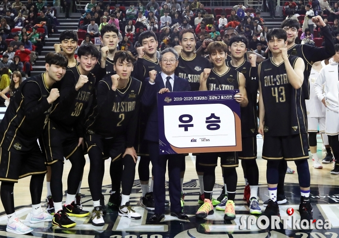 팀허훈 `123-110`으로 우승!