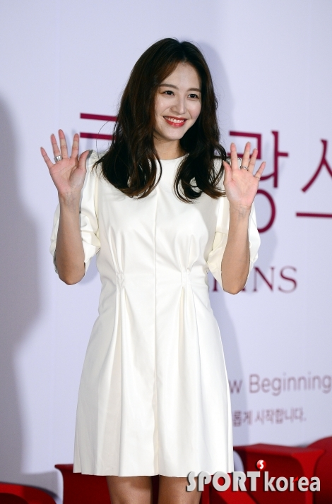 김재경, 반짝반짝 미소 가득~