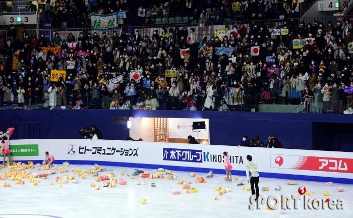 일본 팬들은 하뉴 앓이!