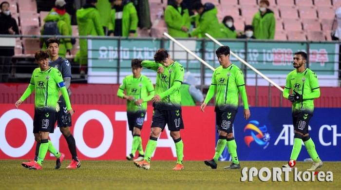 전북, ACL 예선 첫 경기 1-2로 패배!