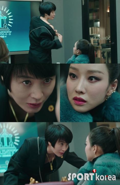 '하이에나' 김혜수, 사건 열쇠 얻기 위한 직진 `강렬 카리스마`