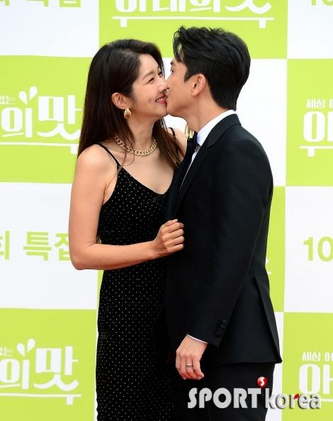 김빈우-정용진 부부 `달콤한 키스에 흠뻑~`