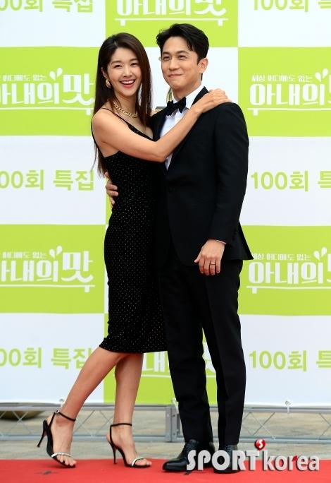 김빈우-정용진 `비주얼 부부~`