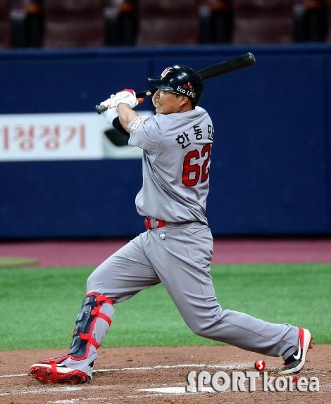 거포 본능 한동민 `시즌 6호 홈런`