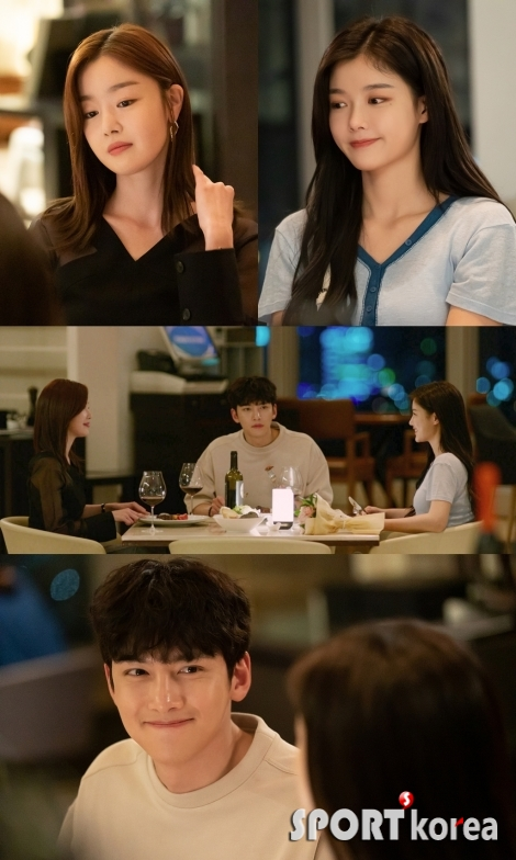 '편의점 샛별이' 지창욱-김유정-한선화, 어색한 식사 시간