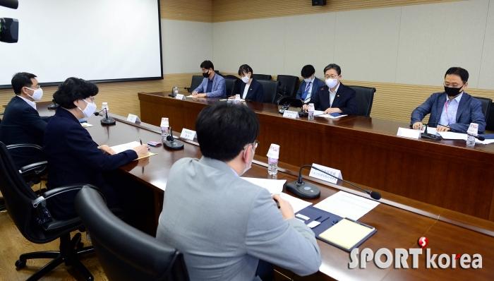 문체부 `고 최숙현 선수 인권침해 관련 회의 개최`