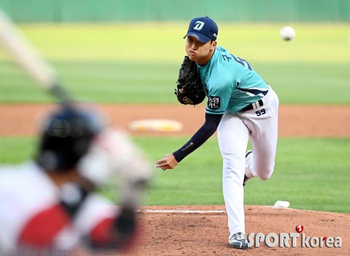 시즌 8승 구창모 `국내 최고 좌완투수~`