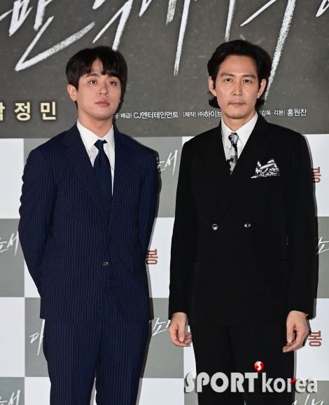 박정민-이정재 `연기신들의 투샷`