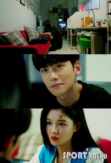 '편의점 샛별이' 지창욱-김유정, 따뜻한 눈맞춤
