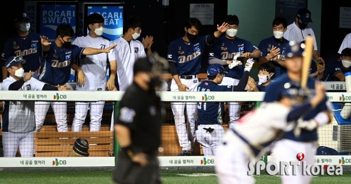 김성욱 `시즌 4호 홈런 폭발`