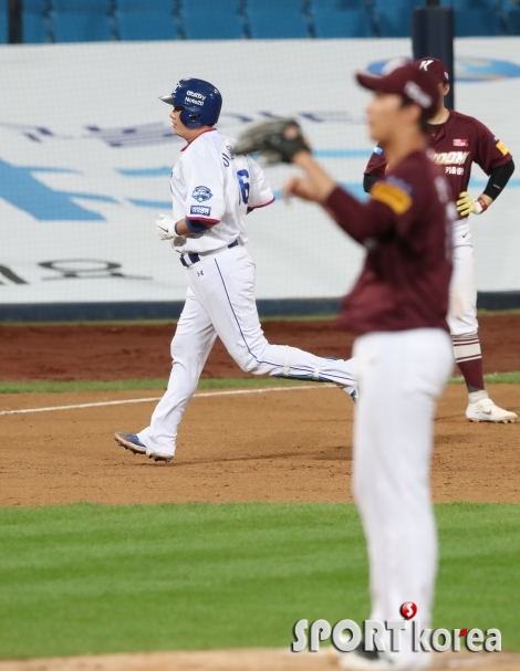 삼성 이원석, 추격의 2점 홈런!