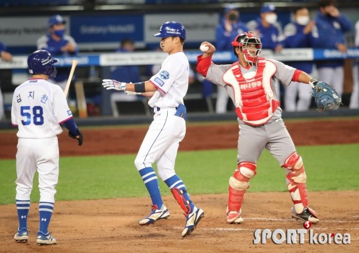 삼성 박해민, 추격의 2점 홈런