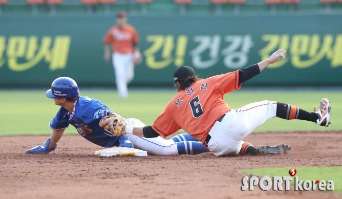 삼성 박해민, 4경기 연속 도루 성공