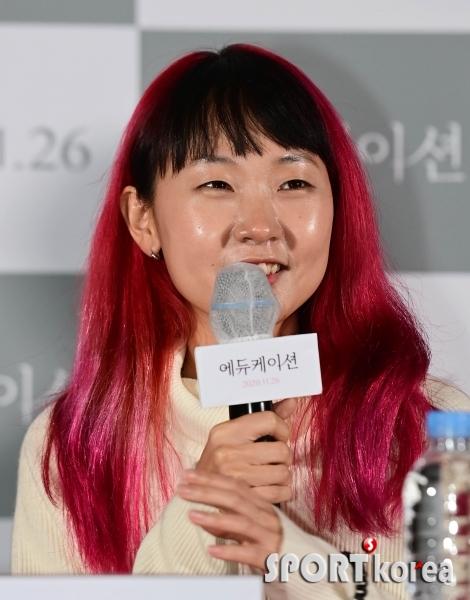 문혜인 `올해의 배우상, 생각도 못했어요`