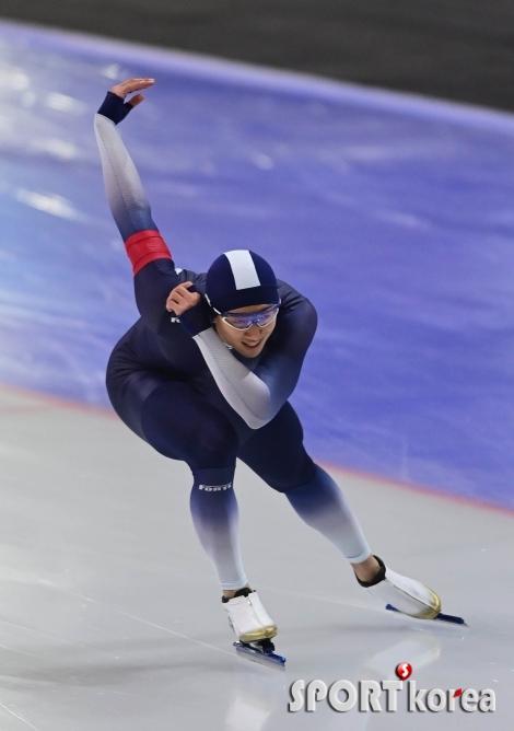 남자 일반부 500M 2위 차지한 김준호