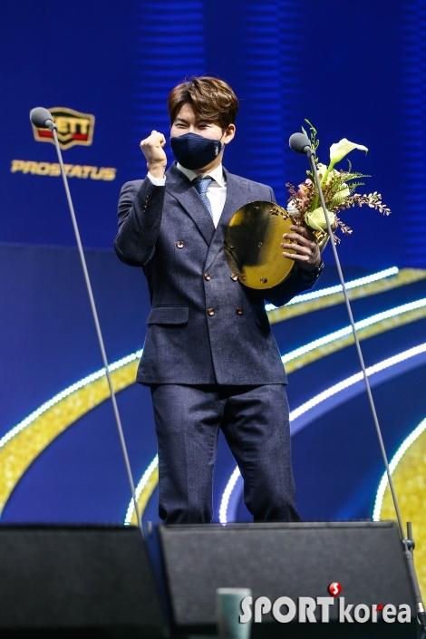 (온)박민우 `우승 공약 걸그룹 댄스`