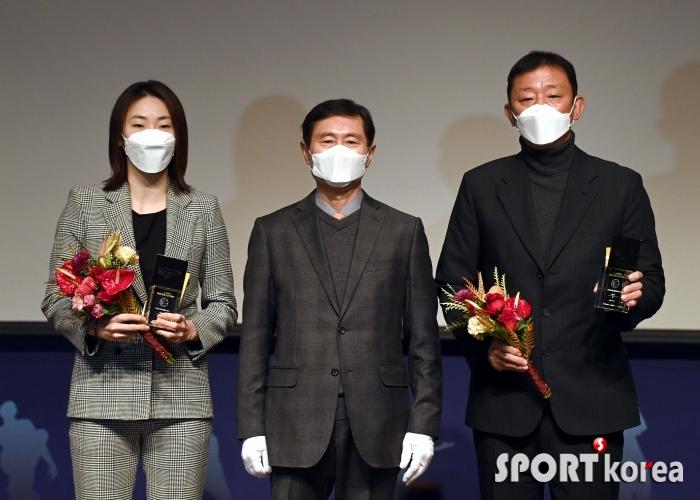 박혜진-허훈, 동아스포츠대상 프로농구 올해의 선수상