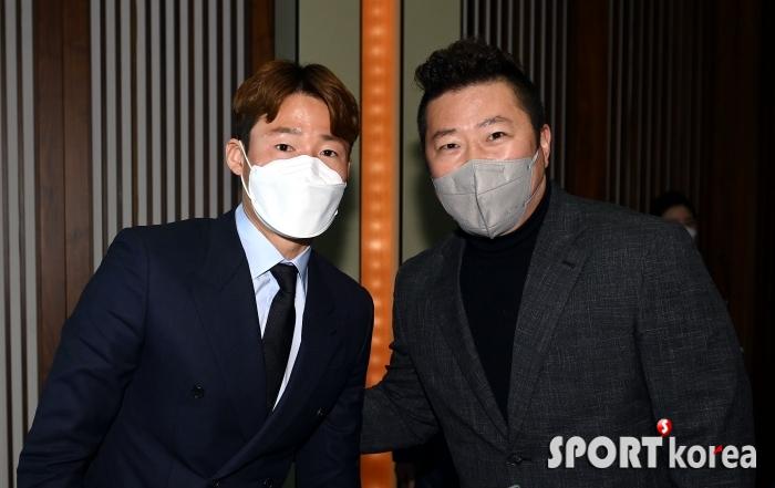 손준호-최형우, 축구 MVP와 야구 스타의 만남!