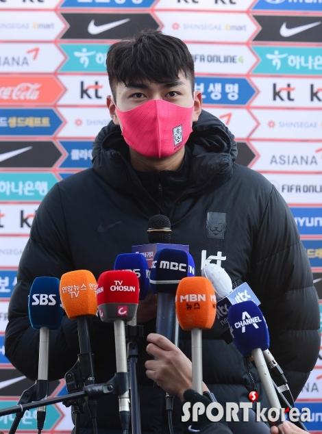 정태욱 `올림픽대표팀 주장의 답변`