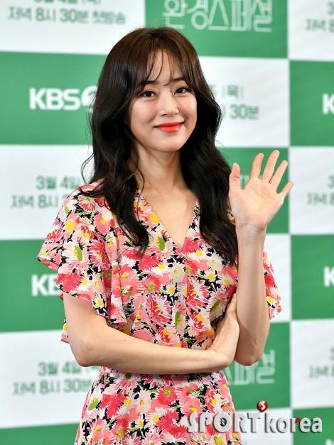 김효진, 두 아이의 엄마로 환경에 많은 관심!
