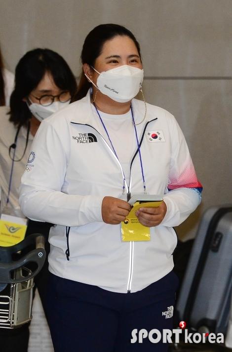 박인비 `아쉽지만 후회 없는 도쿄올림픽 마감`