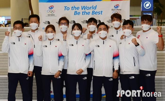 동메달 쾌거 이룬 `근대 5종 대표팀`