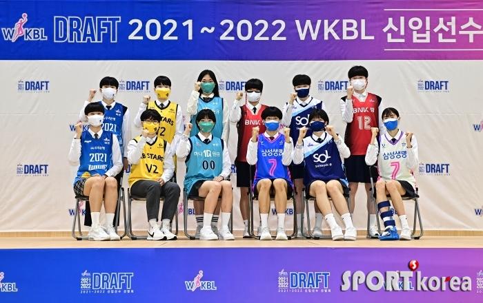21-22 WKBL 신입선수 12인의 파이팅!
