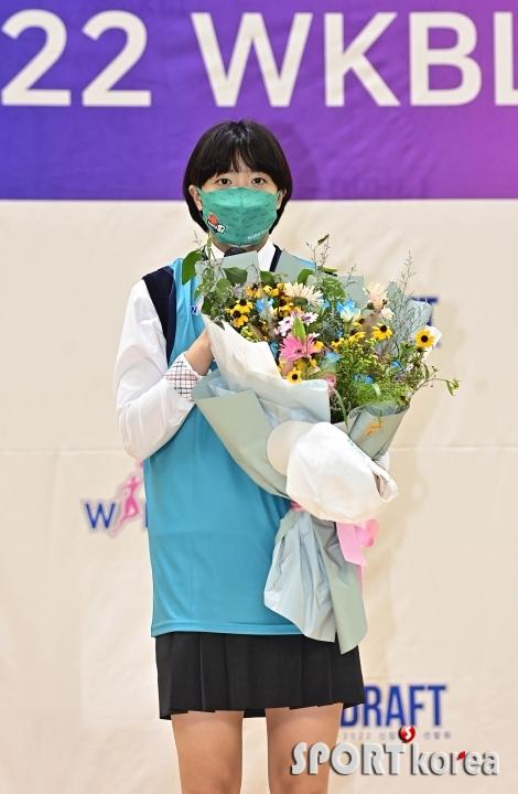 1라운드 1순위로 하나원큐에 지명된 박소희
