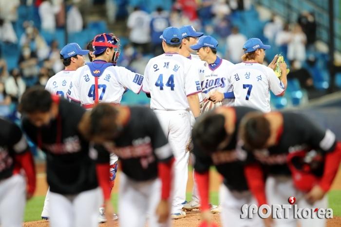 삼성, KIA에 6대 3 승리로 전날 패배 설욕!