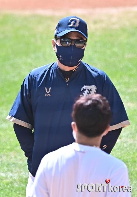 이동욱 감독 `그라운드 면담`