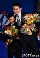 김주성, `축하해 ..